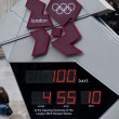 Stock Photo: One hundred days to London 2012 Olympics