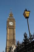 在伦敦钟塔 — 图库照片