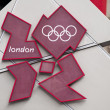 Stock Photo: London 2012 Olympic Games logo
