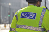 Metropolitan police in London — Stock Photo
