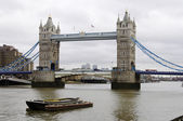 Tower bridge em londres — Foto Stock