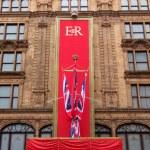 Queen's Diamond Jubilee at Harrods — Stock Photo