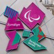 Stock Photo: London 2012 Paralympic Games logo