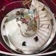 Stock Photo: Spiral stairway in Fortnum & Mason department store