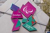 London 2012 Paralympic Games logo — Stock Photo