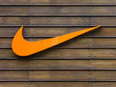Nike logo — Stock Photo