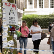 Stock Photo: LONDON - JULY 27: Her fans pay tribute to Amy Winehouse