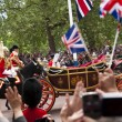The royal wedding of Prince William and Kate Middleton — Lizenzfreies Foto