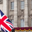 Stock Photo: Buckingham Palace balcony