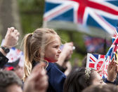 The royal wedding of Prince William and Kate Middleton — Stock fotografie