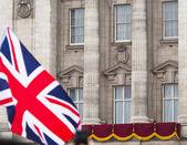 Buckinghamský palác balkon — Stock fotografie