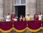 Królewskiego ślubu księcia williama i kate middleton — Zdjęcie stockowe