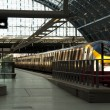 Eurostar at St Pancras station — Stock Photo