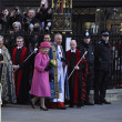 Queen Elizabeth II marks Commonwealth Day at Westminster Abbey — Foto Stock