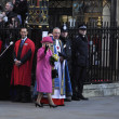 Queen Elizabeth II marks Commonwealth Day at Westminster Abbey — Stock Photo #9468309