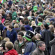 St Patrick's Day Parade and Festival in London, March 18, 2012 - Stock Photo