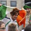 St Patrick's Day Parade and Festival in London, March 18, 2012 — Stock Photo