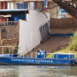 Gendarmerie boat in Bamako — Stock Photo