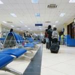 Bamako-Sénou airport lounge — Stock Photo #9876418