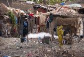 A Bozo village outside Bamako — Stock Photo