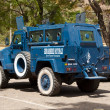 Armored police car in Bamako — Stock Photo #9937438