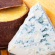 Cheese in the range of close-up — Stock Photo