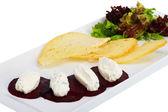 Rüben mit käse — Stockfoto