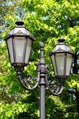 Lámpara de calle vieja en la vieja ciudad de odessa, Ucrania — Foto de Stock