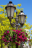 Old street lamp in the old town of Odessa, Ukraine — Stock Photo