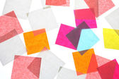 Stickers background colour — Stock Photo