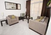 Luxury apartment interior design — Stock Photo