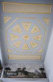 Decke kunstwerk im topkapi palast in istanbul — Stockfoto