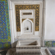 Ornate wash basin at Topkapi Palace in Istanbul - Photo