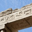 Egyptian hieroglyphics at an ancient temple — Stock Photo #8844643
