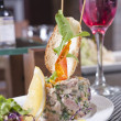 Tuntartare appetizer — Stock Photo #9337227