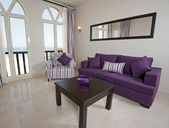 Lyx lägenhet inredning och design — Stockfoto