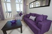 роскошные квартиры дизайн интерьера — Стоковое фото