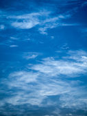 Abstract Blue Sky — Stock Photo