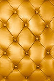 Gold leather texture — 图库照片