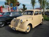 Exposición de coches antiguos — Foto de Stock