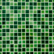 Foto de Stock  : Green Ceramic tile wall