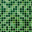 Stock Photo: Green Ceramic tile wall