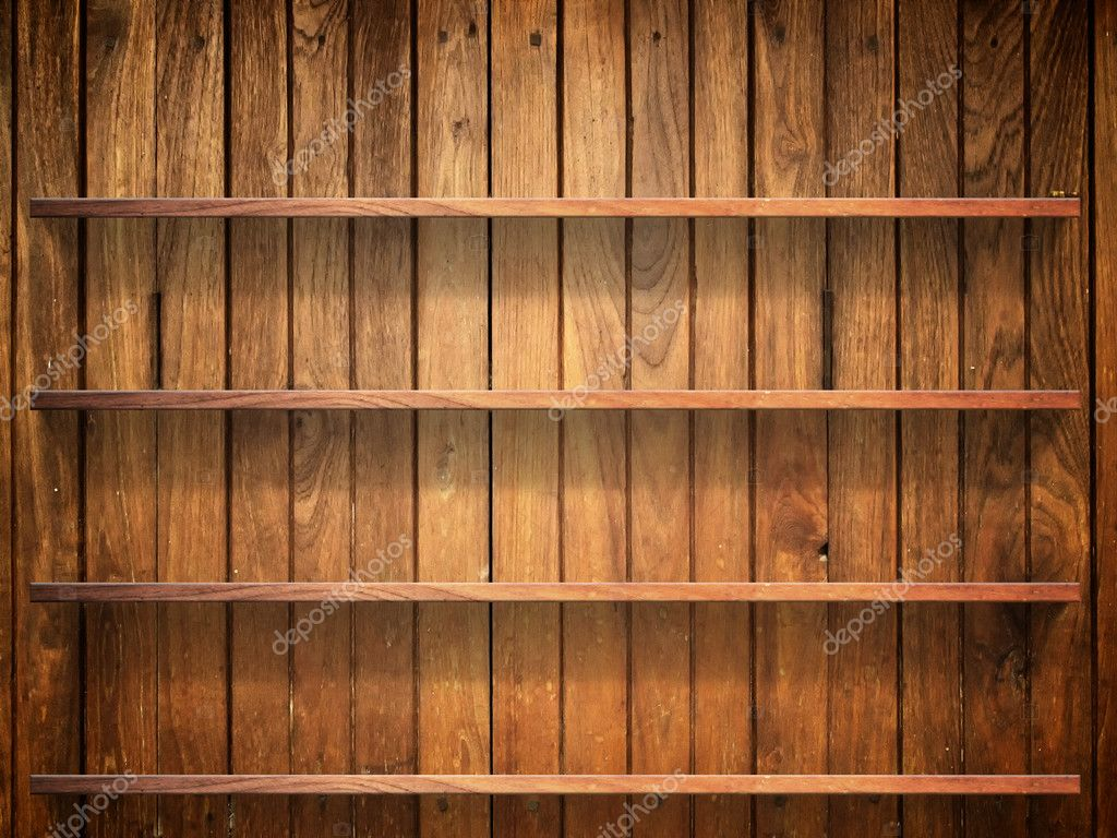 Wood wall shelf portrait - bing images.