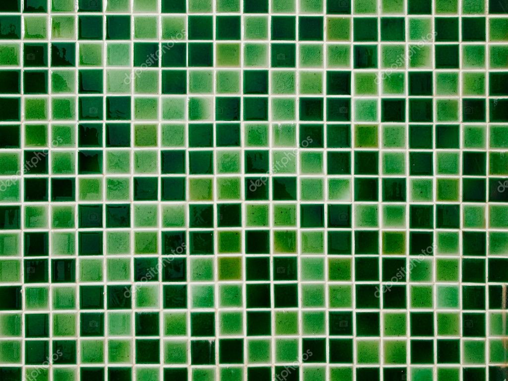 Green Ceramic Tile Wall Stock Photo Nuttakit 8313884