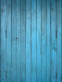 Wood blue panel — Stock Photo