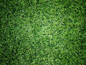 Texture and surface of green turf center light — Stock Photo