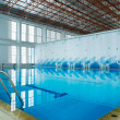 Indoor swimming pool — Stok Fotoğraf #8585448
