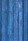 Texture of Blue color paint plank — Stock Photo