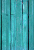 Texture of Green color paint plank vertical — Stock Photo