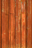 Texture of Orange color paint plank vertical — Stock Photo
